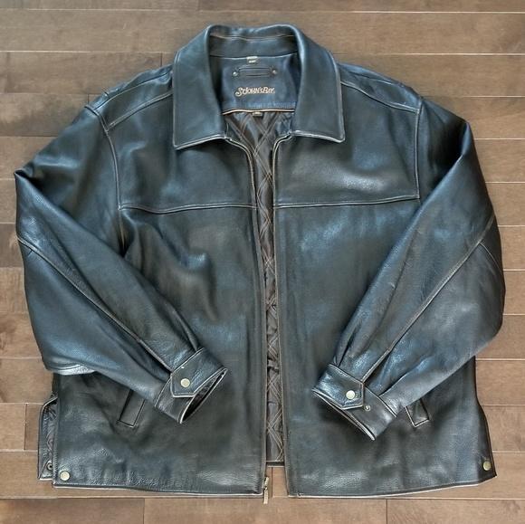2af40fc24 St John's Bay Men's Leather Jacket